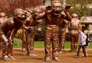 Statues that will make you scratch your head in disbelief.