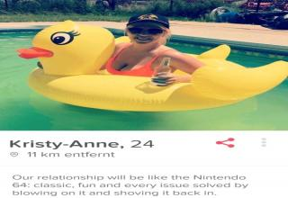 these are some interesting tinder profiles