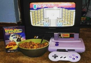 Let the nostalgia wash over you in an awesome wave