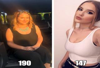 Some spectacular body transformations.