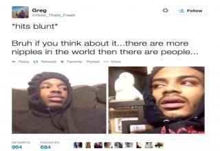 hits blunt memes all over the place