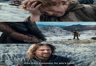 What If Skyrim Guards Were Part Of Lord Of The Rings
