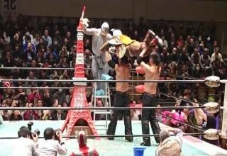 Just when you thought Wrestling can't get any weirder Japan steps into the ring.