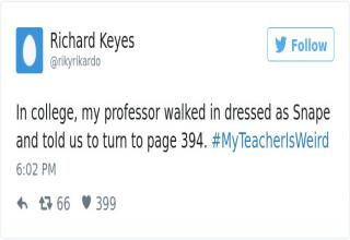 People share the weirdest things their teachers did.