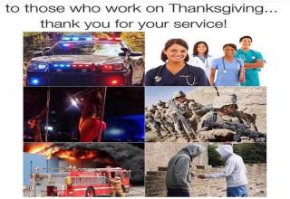 "Funny <a href=""https://www.ebaumsworld.com/pictures/thanksgiving-memes-that-are-best-served-with-gravy/86123307/"">memes for turkey day</a> that you and the boys can take around the block."