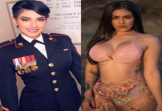 There's nothing better than a sexy lady in uniform.