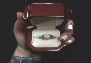 A very unusual proposal during Halloween ended with epic success.
