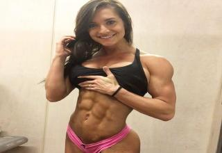 Muscular girls proving that being strong makes you even more sexy.