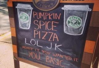 Brace yourself...pumpkin spice lattes, yoga pants, and uggs are coming.