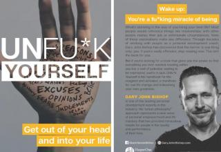 a self help book called unf*ck yourself