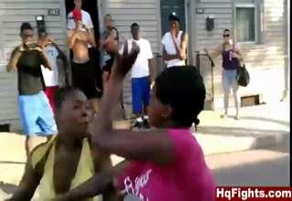 Girls felony fights
